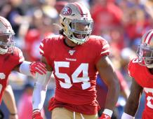 San Francisco 49ers LB Fred Warner