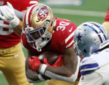 San Francisco 49ers RB Jeff Wilson