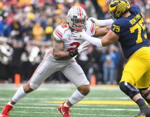 Ohio State Buckeyes Edge Rusher Chase Young