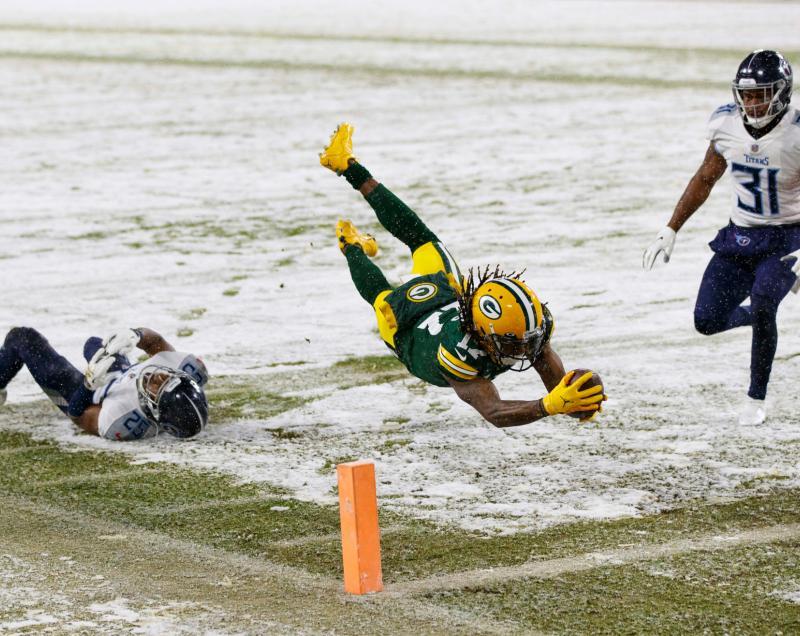 Green Bay Packers WR Davante Adams