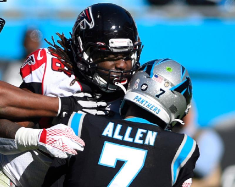 Carolina Panthers QB Kyle Allen