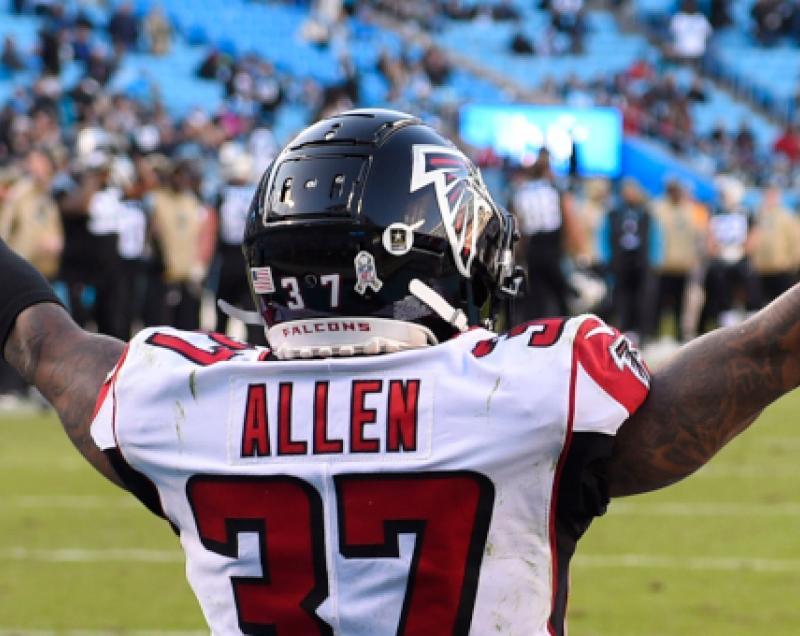Atlanta Falcons DB Ricardo Allen