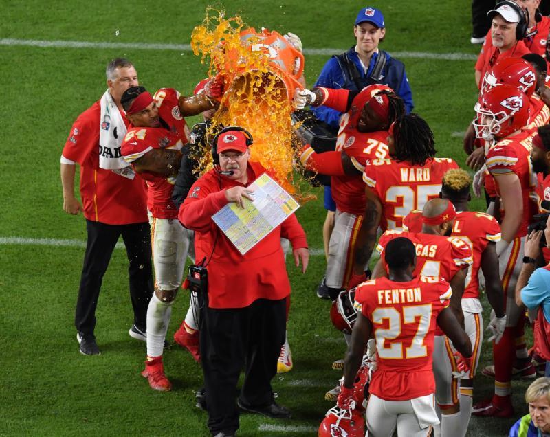 Kansas City Chiefs head coach Andy Reid