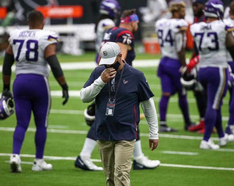 Former Houston Texans head coach Bill O'Brien