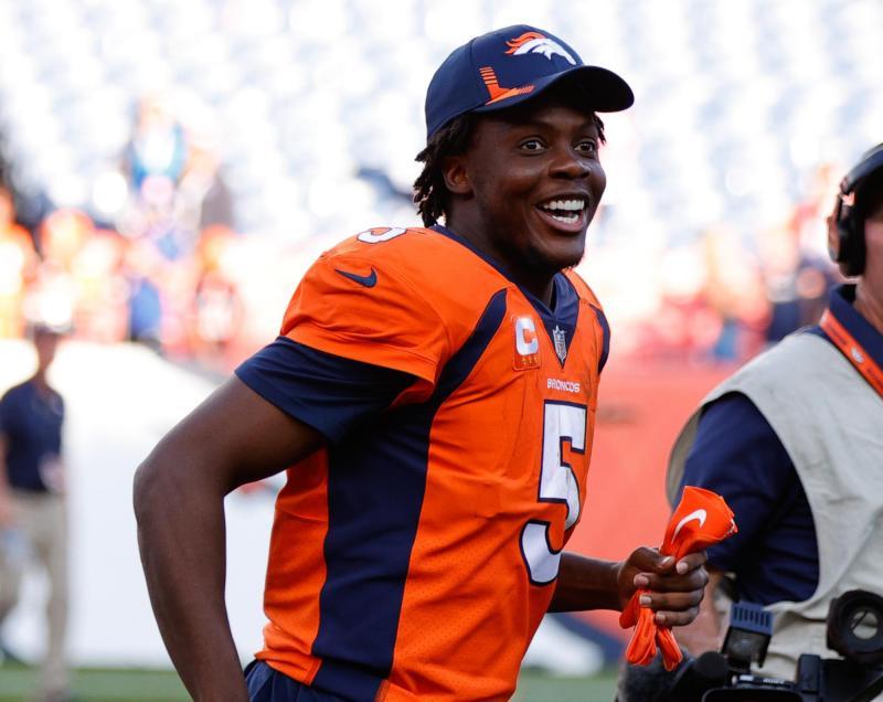 Denver Broncos QB Teddy Bridgewater