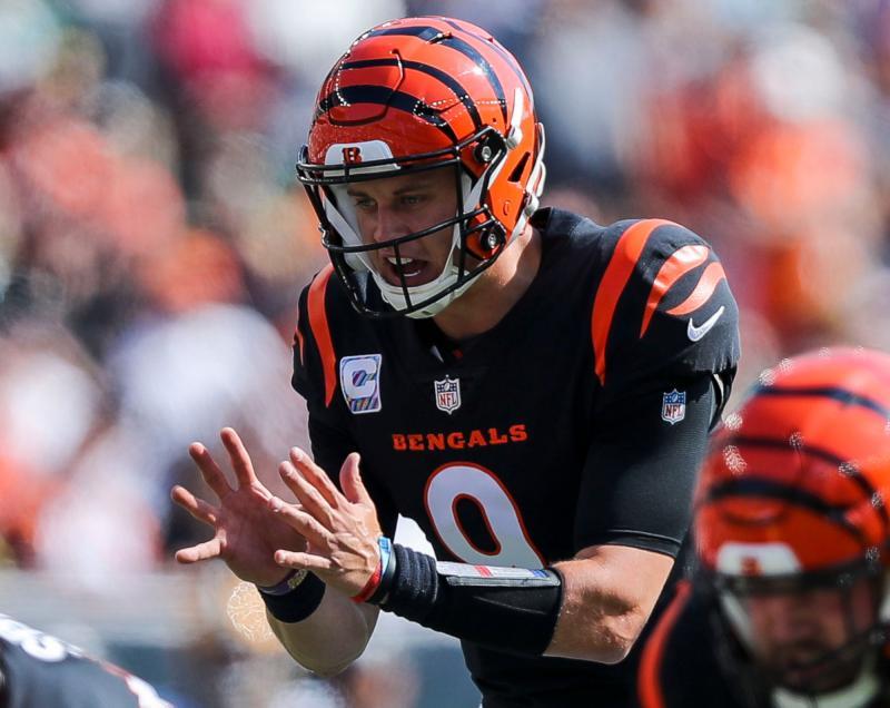 Cincinnati Bengals QB Joe Burrow