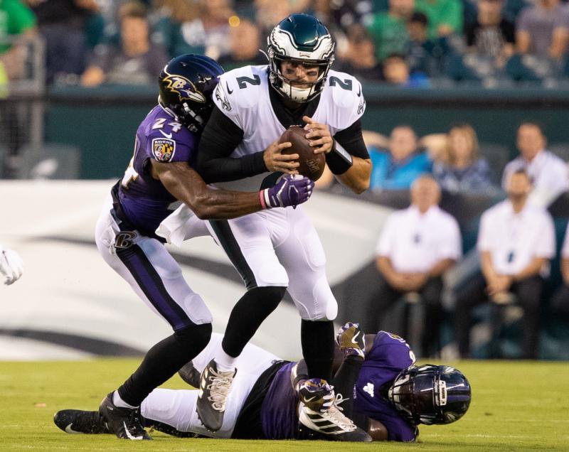 Baltimore Ravens DB Brandon Carr