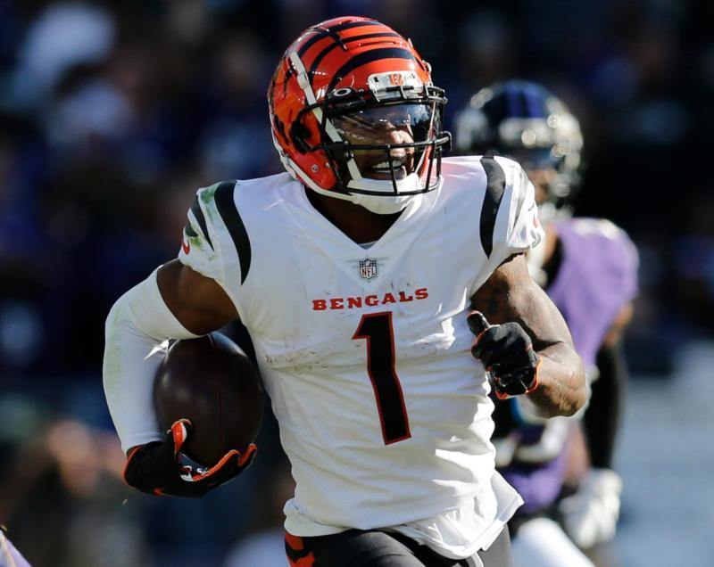 Cincinnati Bengals WR Ja'Marr Chase