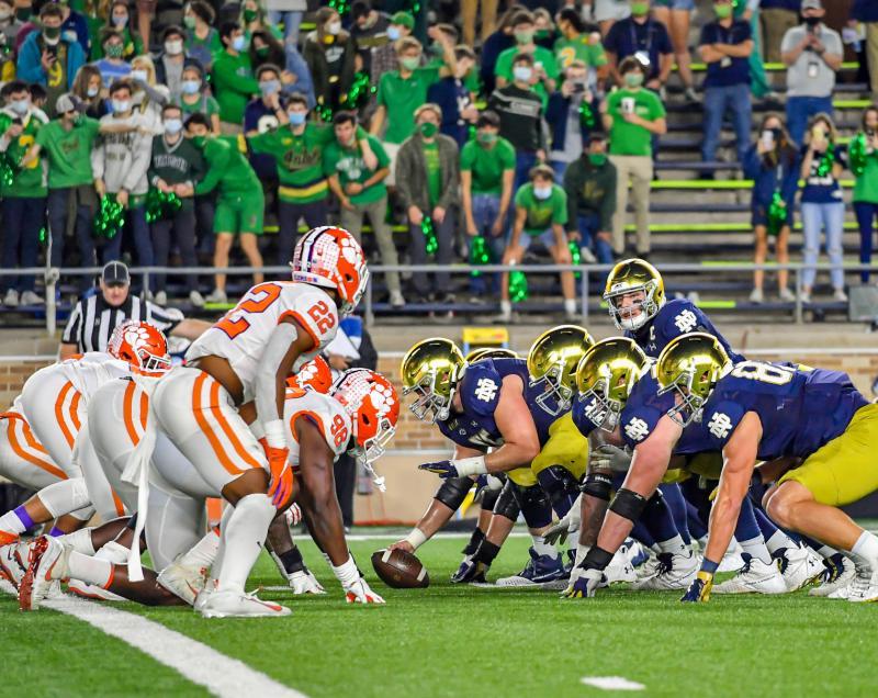 Clemson Tigers vs. Notre Dame Fighting Irish