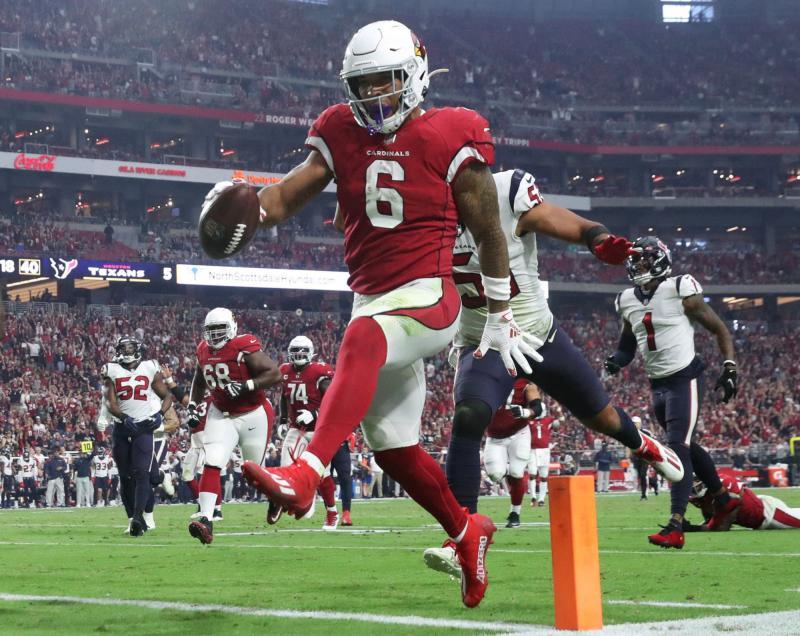 Arizona Cardinals RB James Conner
