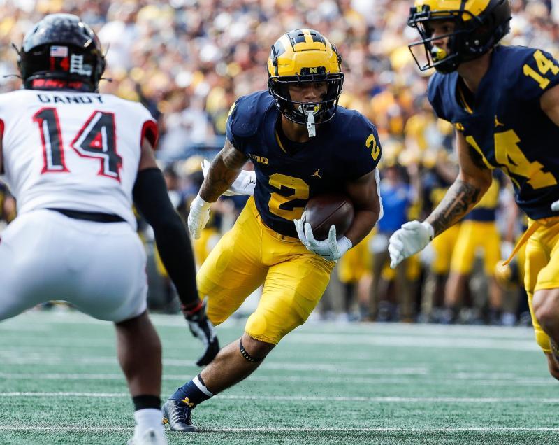Michigan Wolverines RB Blake Corum