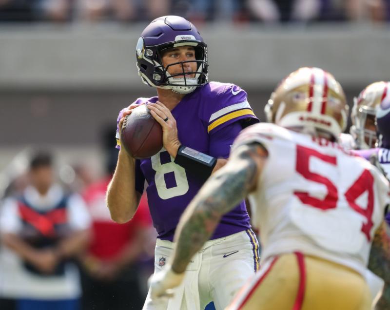 Minnesota Vikings QB Kirk Cousins