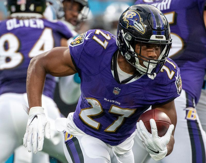 Baltimore Ravens RB J.K. Dobbins