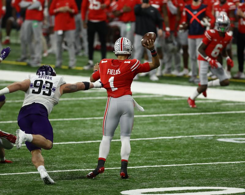 Ohio State Buckeyes QB Justin Fields
