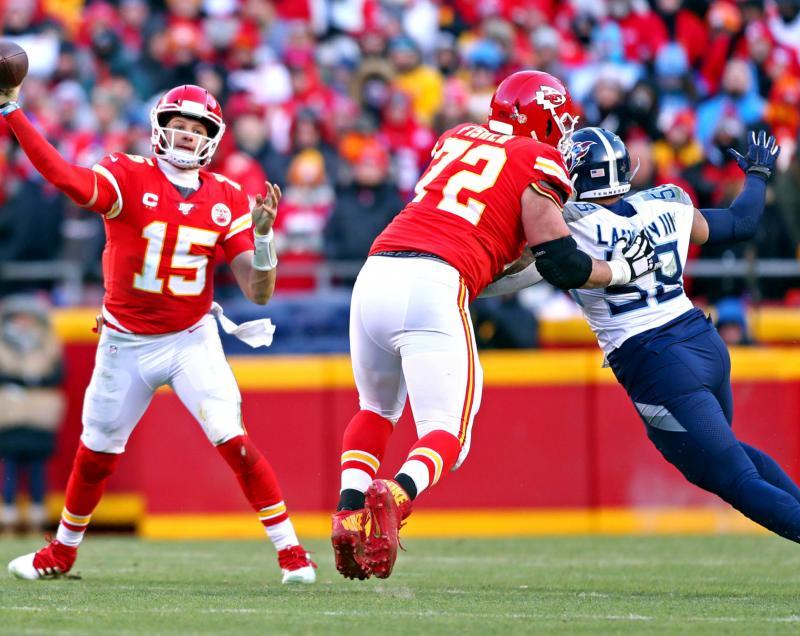 Kansas City Chiefs OL Eric Fisher