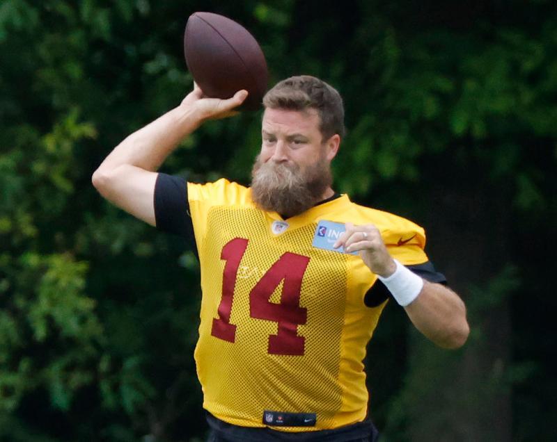 Washington Football Team QB Ryan Fitzpatrick