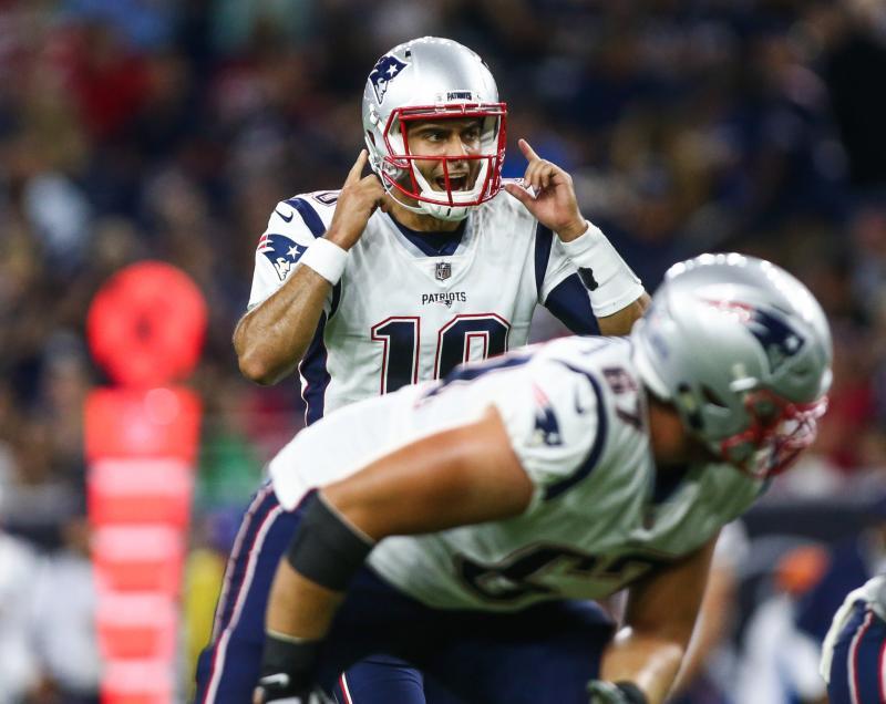 New England Patriots QB Jimmy Garoppolo