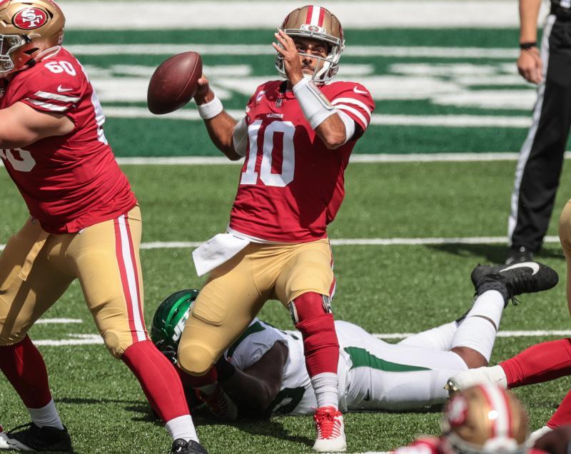 San Francisco 49ers QB Jimmy Garoppolo