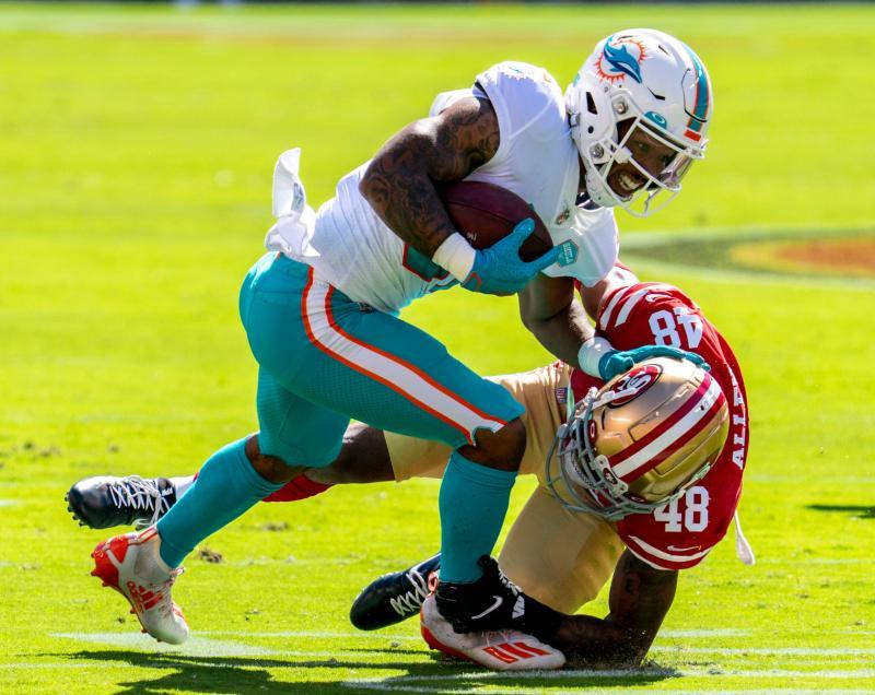 Miami Dolphins RB Myles Gaskin