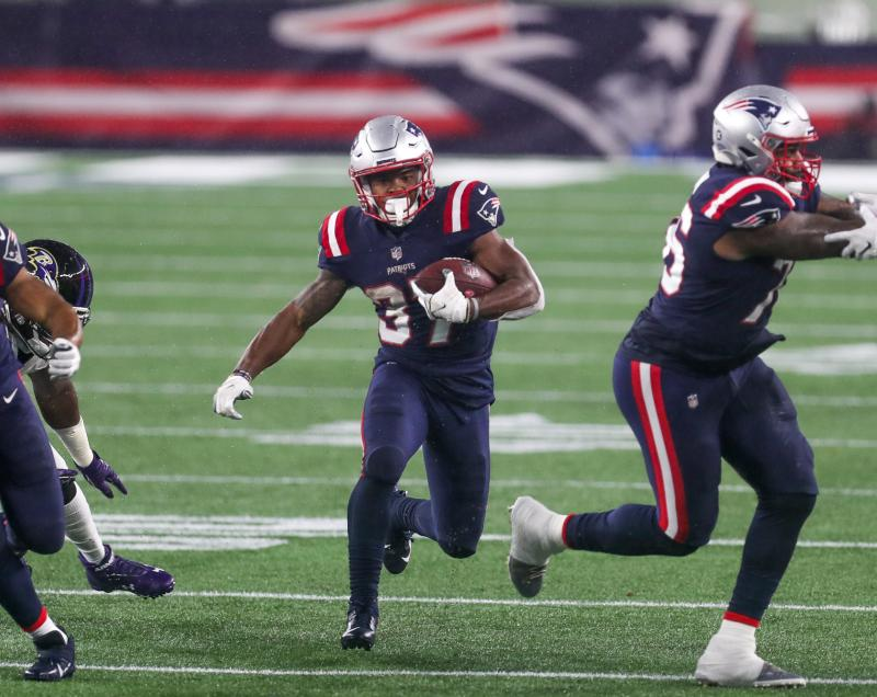 New England Patriots RB Damien Harris