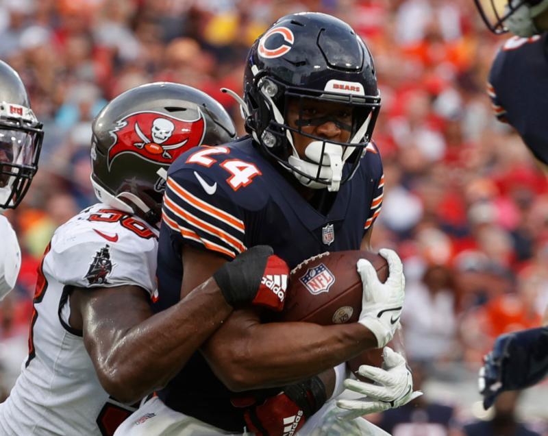 Chicago Bears RB Khalil Herbert