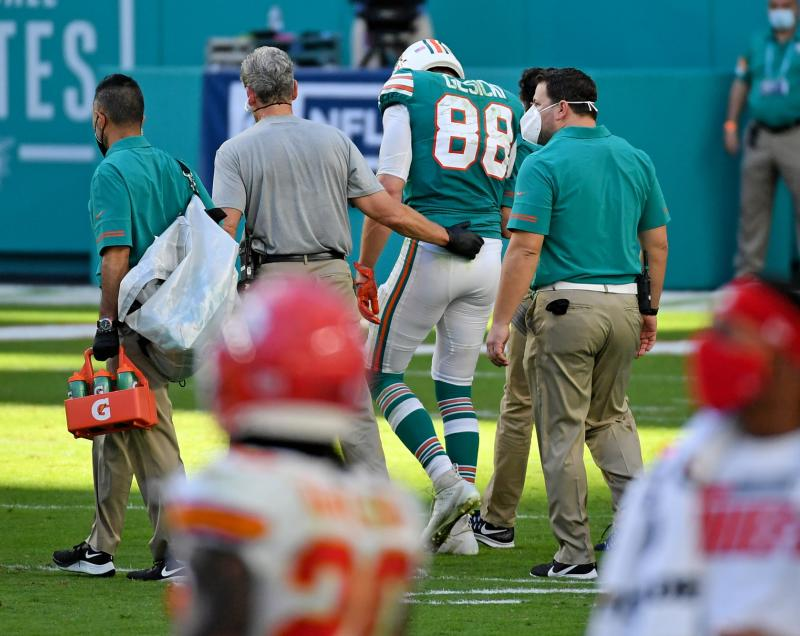 Miami Dolphins TE Mike Gesicki