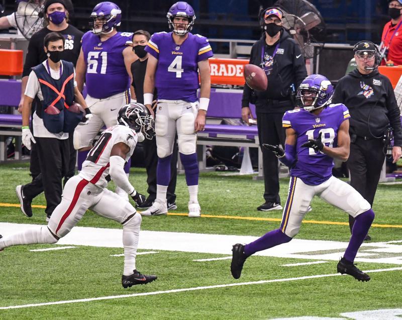 Minnesota Vikings WR Justin Jefferson