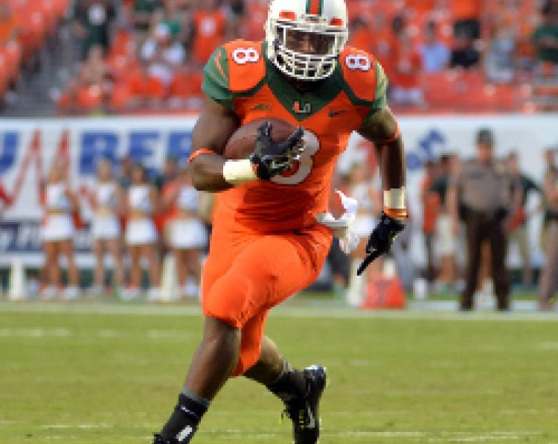 Futures: Miami RB Duke Johnson