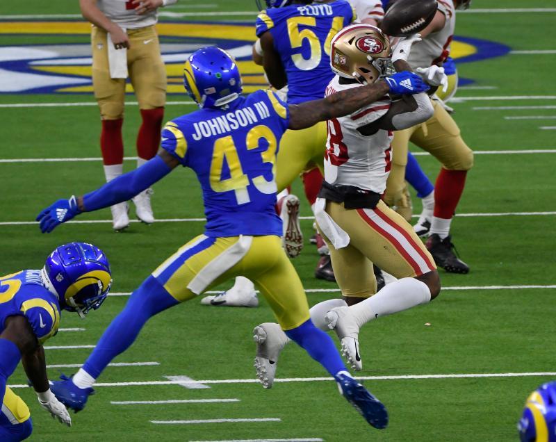 Los Angeles Rams S John Johnson