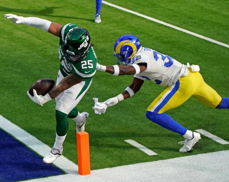 New York Jets RB Ty Johnson