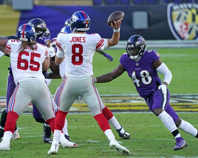 New York Giants QB Daniel Jones