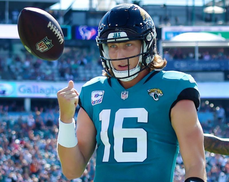 Jacksonville Jaguars QB Trevor Lawrence