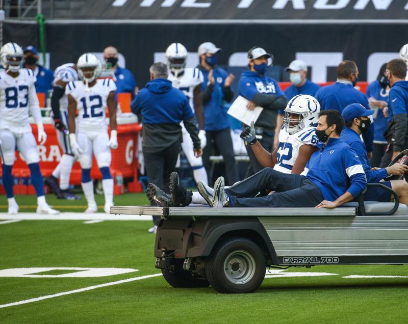 Indianapolis Colts OL Le'Raven Clark