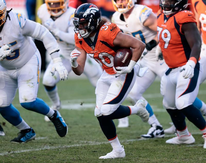 Denver Broncos RB Phillip Lindsay