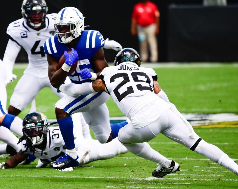 Indianapolis Colts RB Marlon Mack