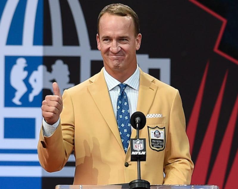Hall of Fame QB Peyton Manning