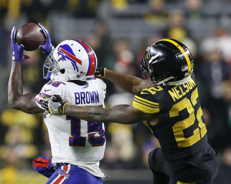 Pittsburgh Steelers CB Steven Nelson