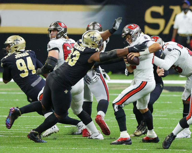 New Orleans Saints DT David Onyemata