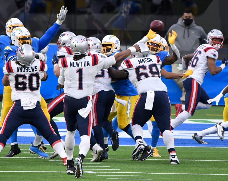 New England Patriots offensive line
