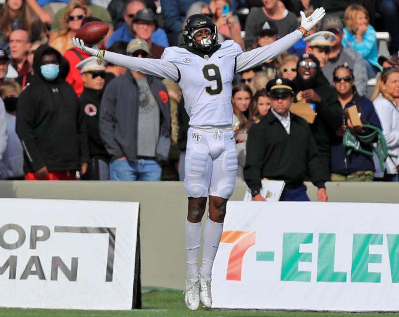 Wake Forest Demon Deacons WR A.T. Perry