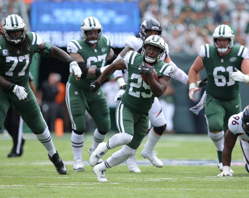 New York Jets RB Bilal Powell