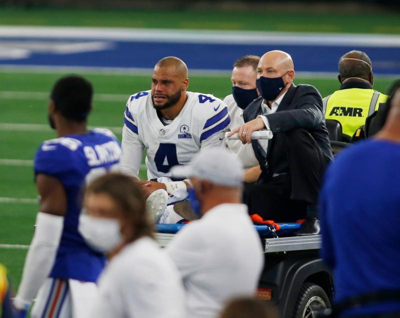 Dallas Cowboys QB Dak Prescott