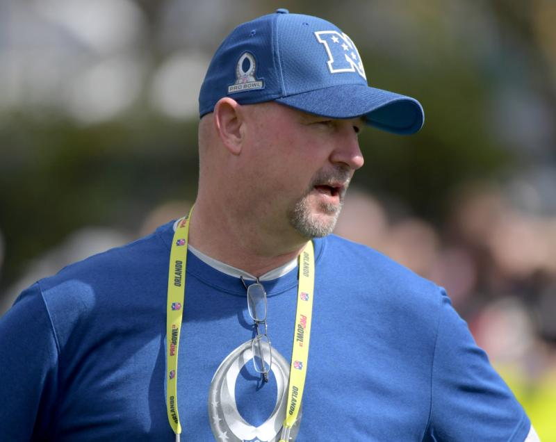New Orleans Saints run game coordinator/tight ends coach Dan Roushar