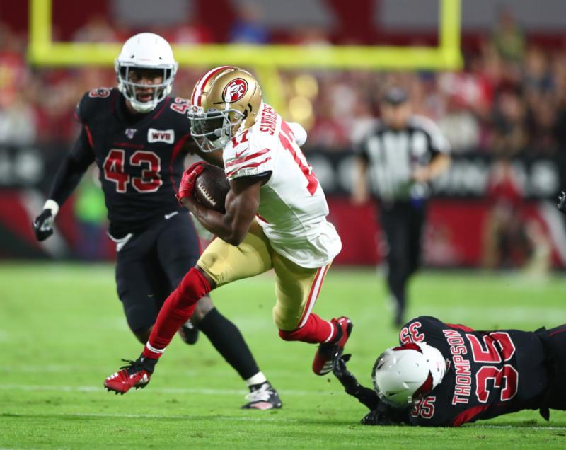 San Francisco 49er WR Emmanuel Sanders