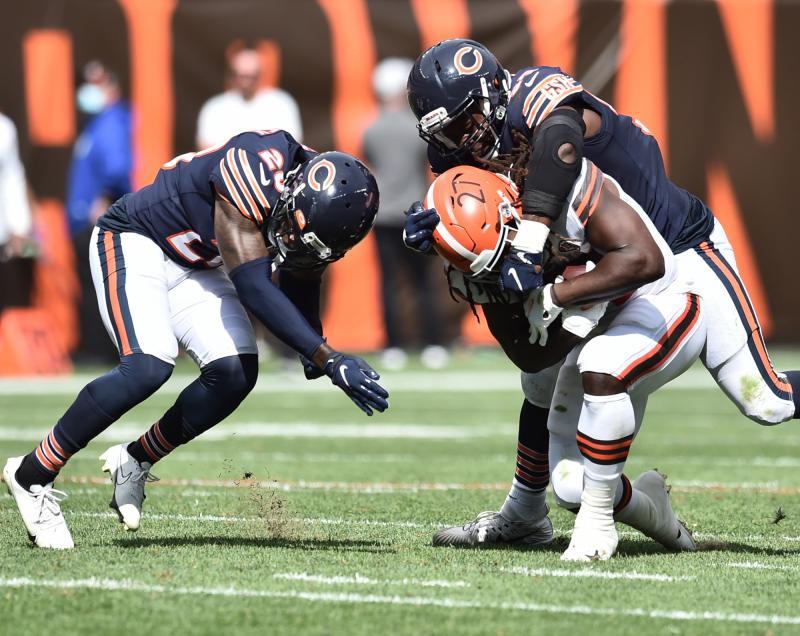 Chicago Bears DB Duke Shelley
