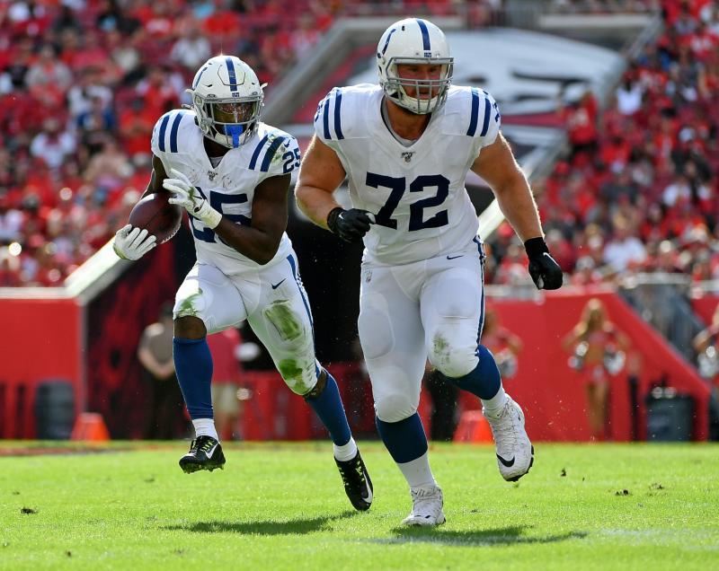 Indianapolis Colts OL Braden Smith