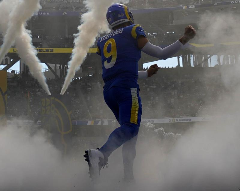 Los Angeles Rams QB Matthew Stafford