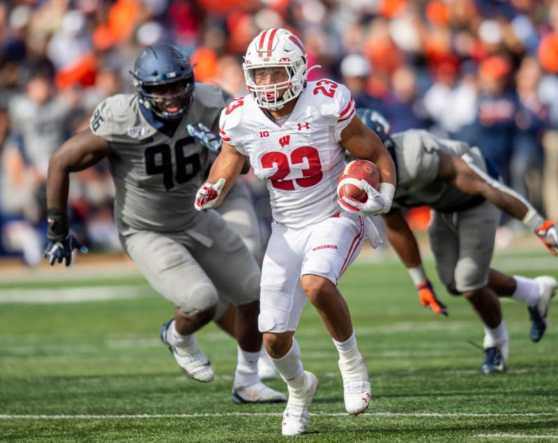 Wisconsin Badgers RB Jonathan Taylor