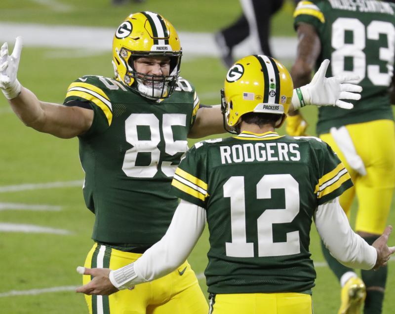Green Bay Packers TE Robert Tonyan