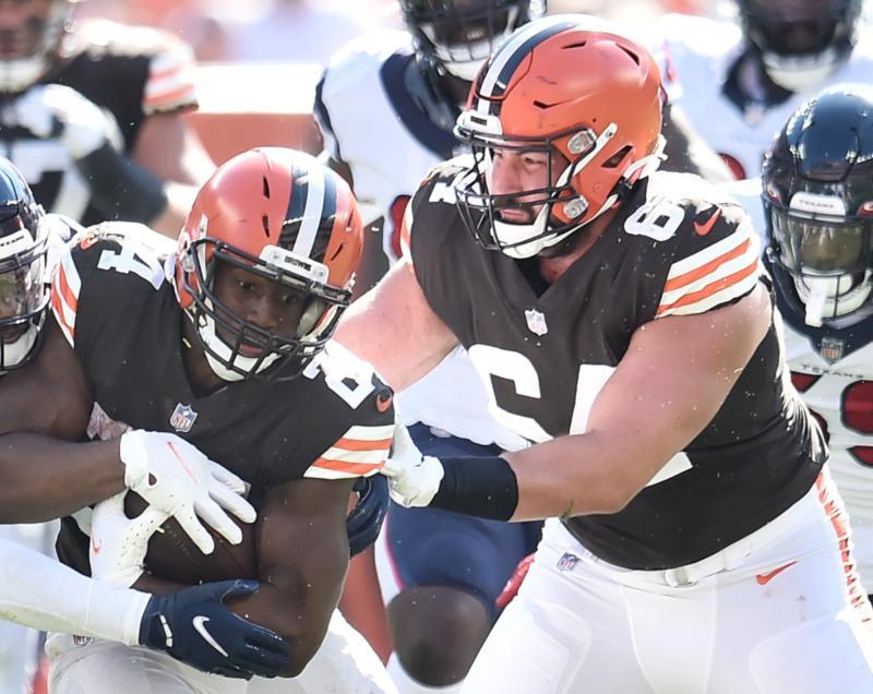 Cleveland Browns OL JC Tretter